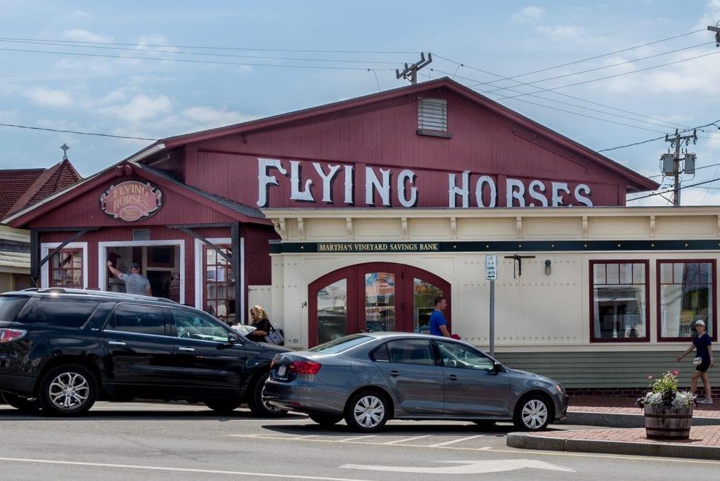 Martha's Vineyard Flying Horses Carousel On Facebook