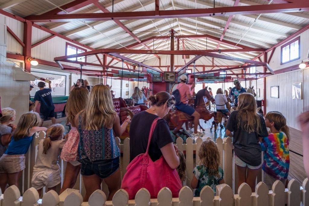 Martha's Vineyard Flying Horses Carousel Oak Bluffs