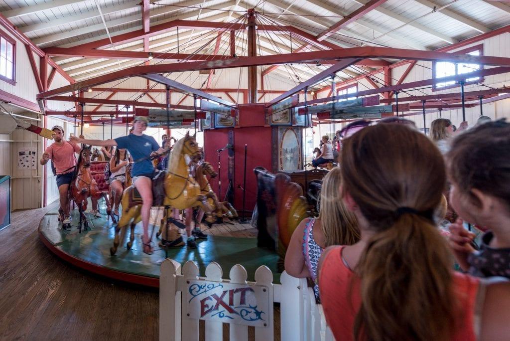 Martha's Vineyard Bucket List: Flying Horses Carousel Oak Bluffs