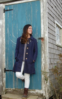 Womens Norester 103 Lauren Morgan Fashion Designs Inspired By Martha's Vineyard