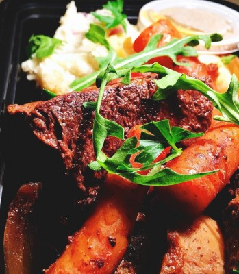 Short Ribs By Fete MV Food Delivery On Martha's Vineyard