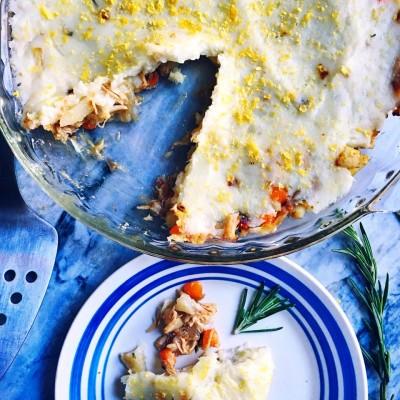 Pulled Pork Shepard's Pie Gourmet To Go Dinner Fete MV Martha's Vineyard