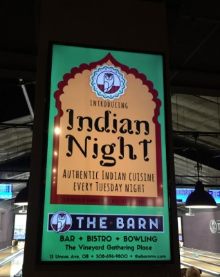 Indian Night Cuisine At The Barn Bowl & Bistro Martha's Vineyard Dining Out Off-Season
