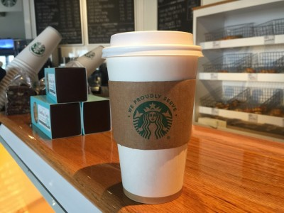 Starbuck Coffee On Martha's Vineyard At Edgartown Meat & Fish