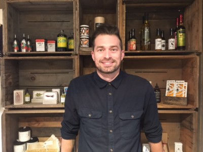 New Behind The Bookstore General manager Nicholas McEachin Martha's Vineyard Restaurants