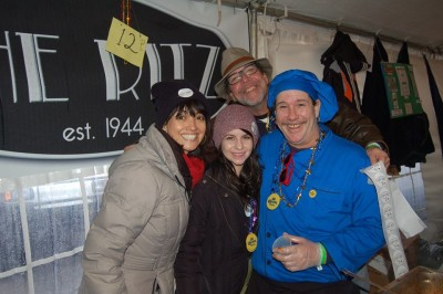 Having Fun At Martha's Vineyard Big Chili Contest
