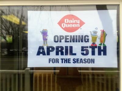 Martha's Vineyard Dairy Queen Opens April 5 2018 Edgartown