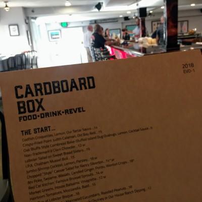 New Martha's Vineyard Restaurant The Cardboard Box Opens In Oak Bluffs