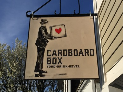 Martha's Vineyard Mother's Day Brunch: The Cardboard Box Restaurant Oak Bluffs