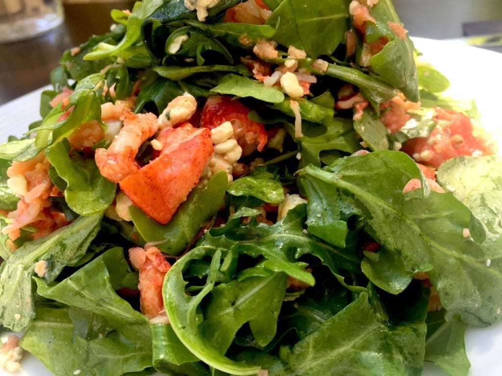 Best Lobster Salad On Martha's Vineyard: 19 Raw Oyster Bar & Restaurant Edgartown