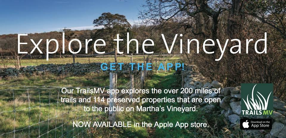 Explore Martha's Vineyard Trails MV App Hiking Guide to MArtha's Vineyard