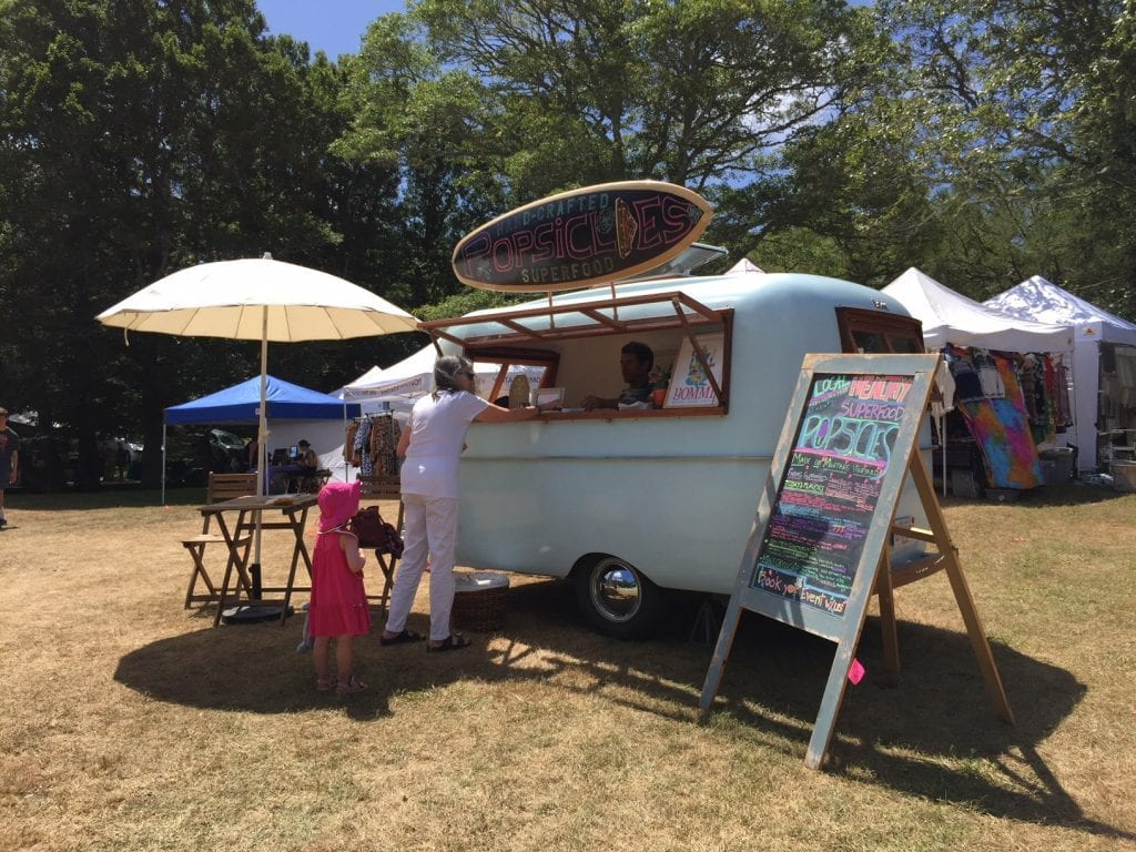 Martha's Vineyard Superfood Frozen Treats Yommi Healthy Frozen Treats Food Truck