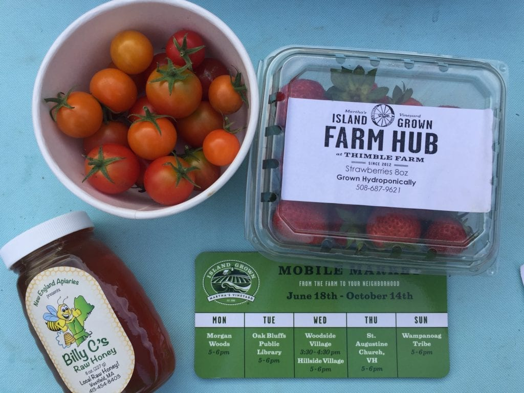 Martha's Vineyard Island Grown Initiative Farm Hub Mobile Farmers Market
