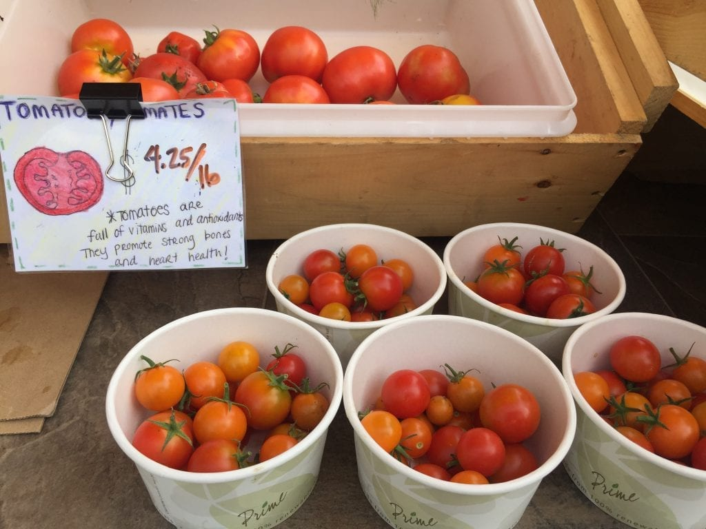Fresh Tomatoes Martha's Vineyard Mobile Market Farmers Market