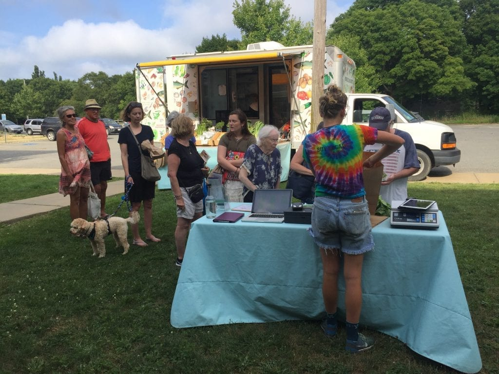 Martha's vineyard Farmers Market: Mobile Market Food Truck