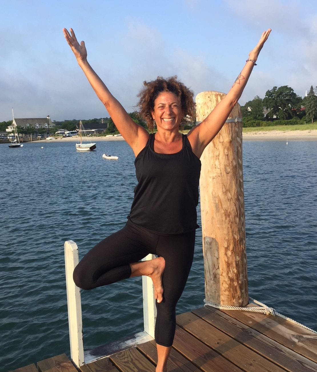Martha's Vineyard Yoga: Yoga On The Dock Sherry Sidoti Vineyard haven Harbor