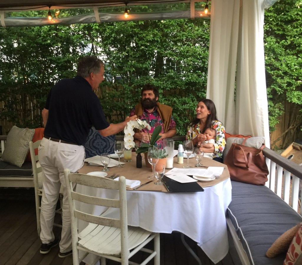 Martha's Vineyard Outdoor Dining Family Friendly Pizza Bar Atria Restaurant Edgartown