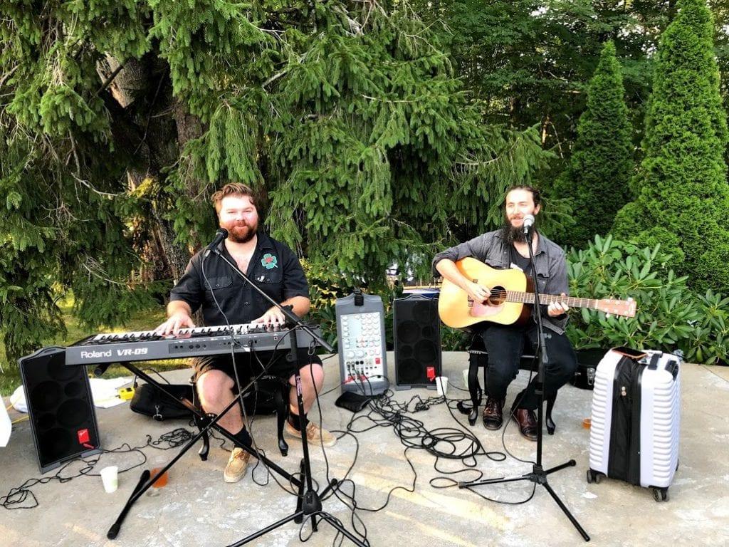 Lambert's Cove Inn Live Music Poolside Barbeque Martha's Vineyard BBQ