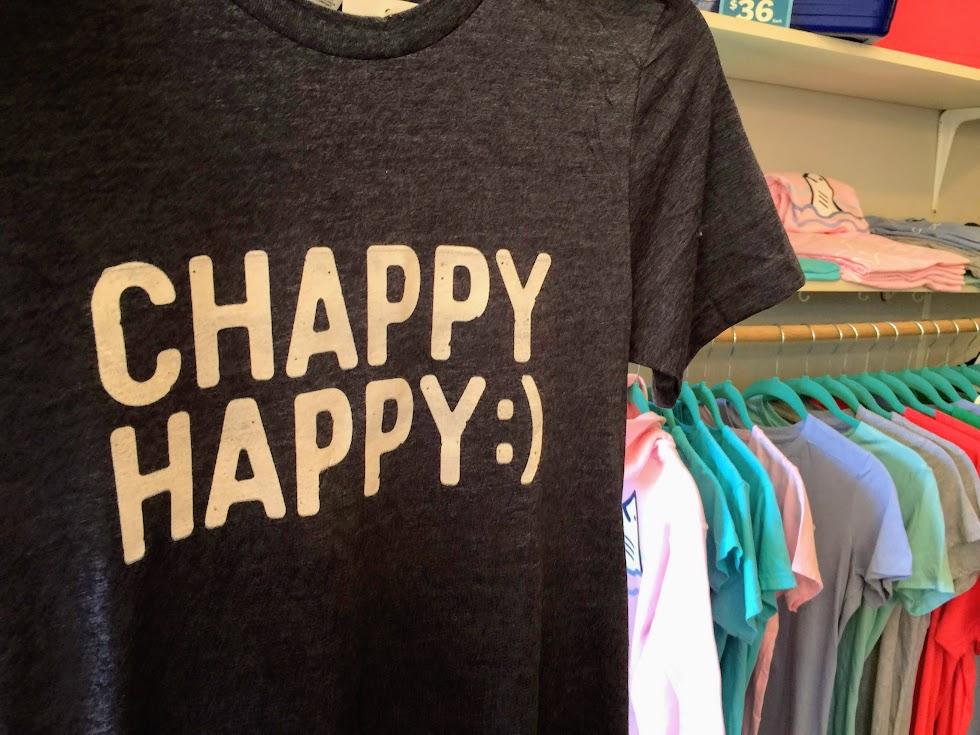 Chappy Happy Martha's Vineyard Clothing Line