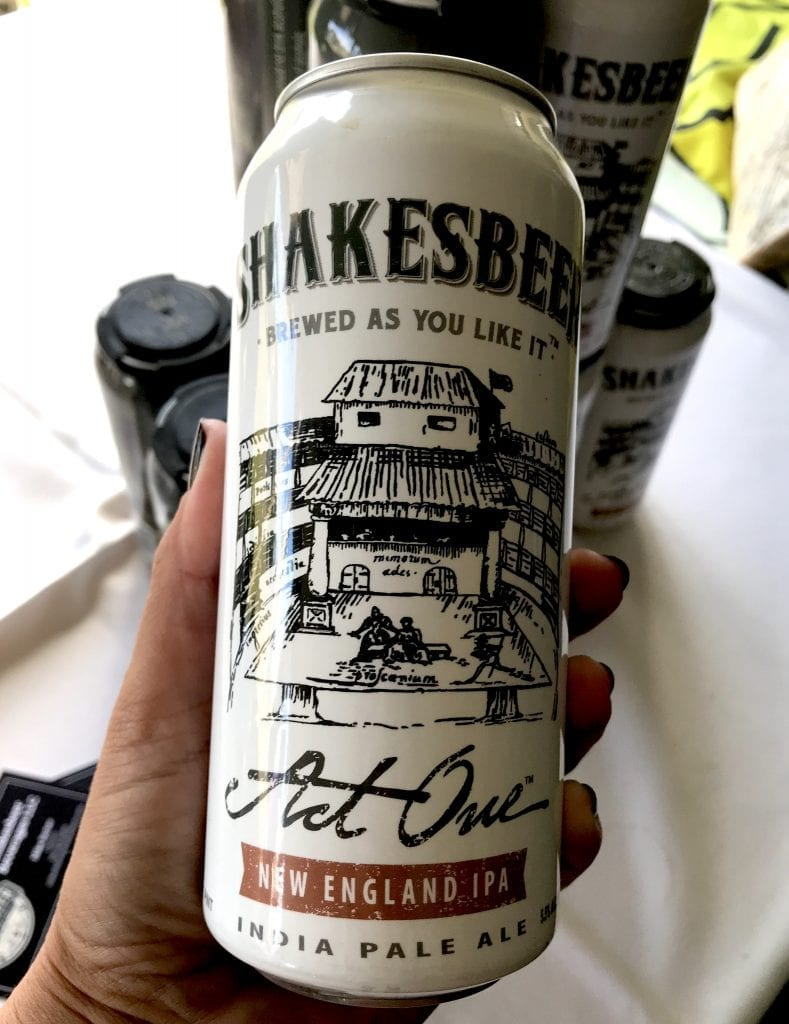 Shakesbeer's Act One IPA Beer Martha's Vineyard Craft Beer Festival Highlights