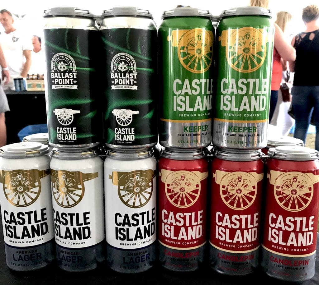 Ballast Point Castle Island Breweries Martha's Vineyard Craft Beer Festival