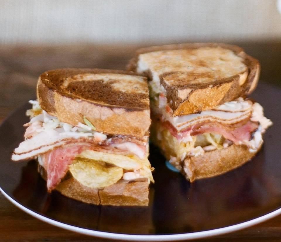 Martha's Vineyard 7A Restaurant Favorite Sandwich Liz Lemon Served At New Lunch Sea Smoke Restaurant Oak Bluffs
