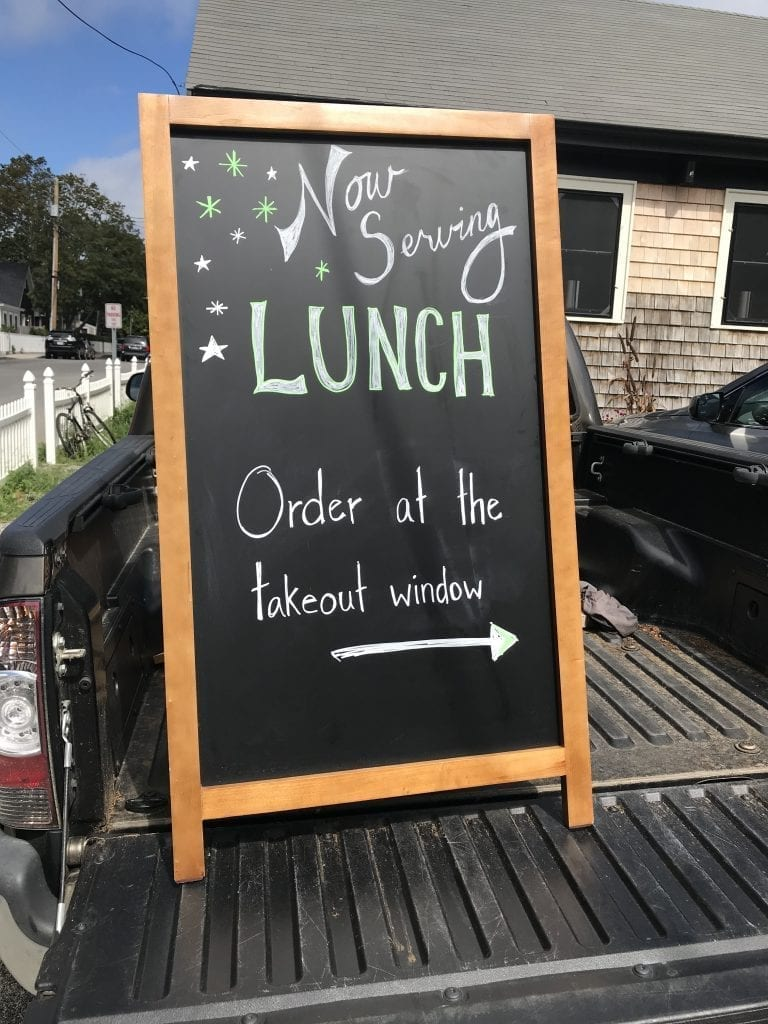 Martha's Vineyard Lunch: Sea Smoke Restaurant Oak Bluffs