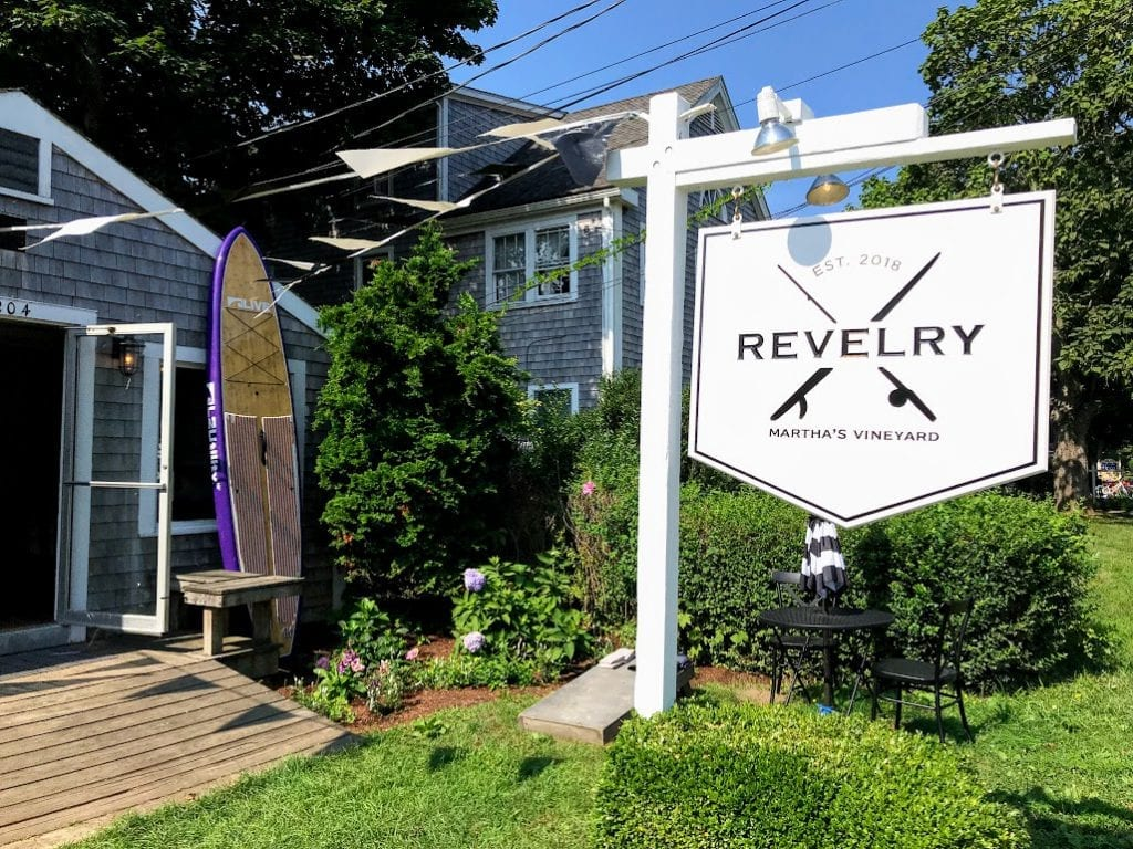 Revelry Martha's Vineyard Stand Up Paddle Boarding Edgartown