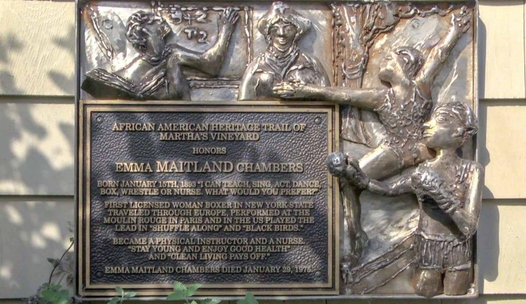 African American Heritage Trail Of Martha's Vineyard Emma Maitland Home Oak Bluffs