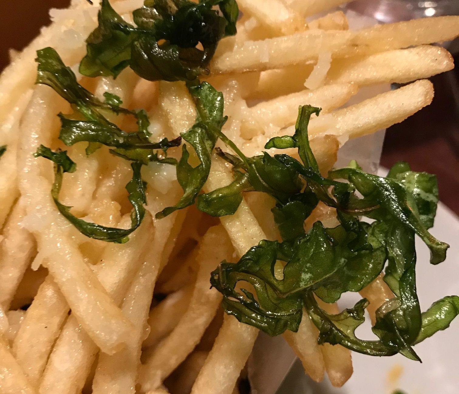 Frugal Foodie Burger Night At Atria Restaurant: Truffle Fries Brick Cellar Restaurant Burger Night Edgartown Dining