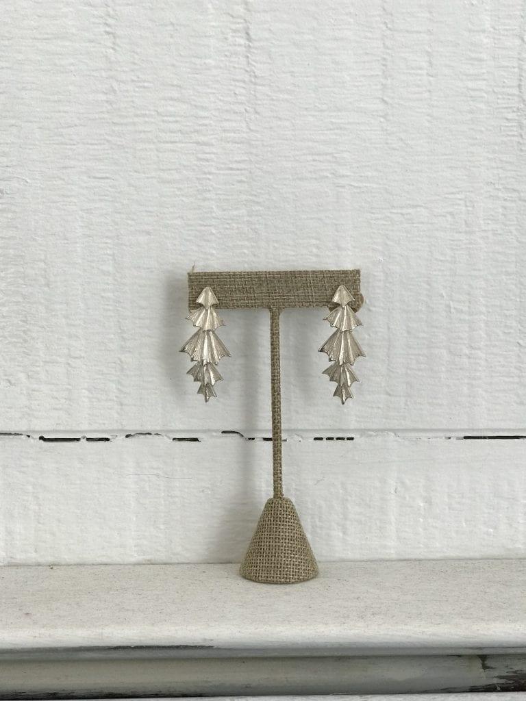 Elysha Roberts of Elysha Joy Metals Custom Earrings Holiday Shopping Martha's Vineyard