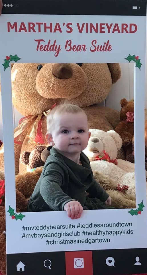 Martha's Vineyard Teddy Bear Suite Fundraiser For Boys & Girls Club Healthy Happy Kids