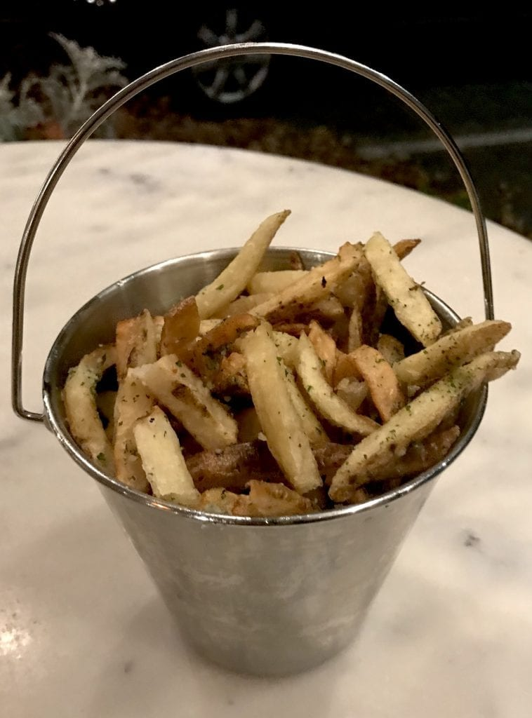 Parmesan Truffle Fries At Waterside Market Burger Night Martha's Vineyard Frugal Foodie
