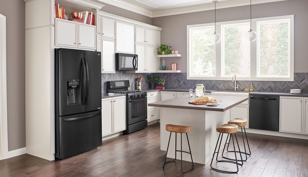 2019 Design Trend - Matte Black Steel