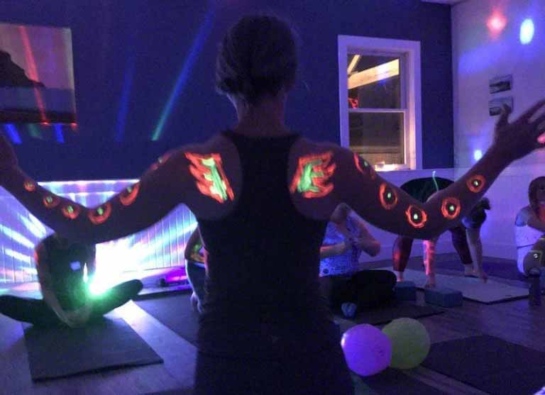 Glow Yoga For Kids And Adults On Martha's Vineyard