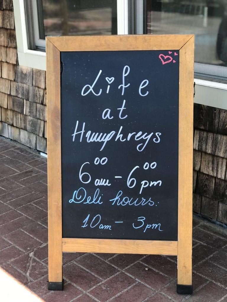 Life at Humphrey's New Vineyard Haven Restaurant Martha's Vineyard