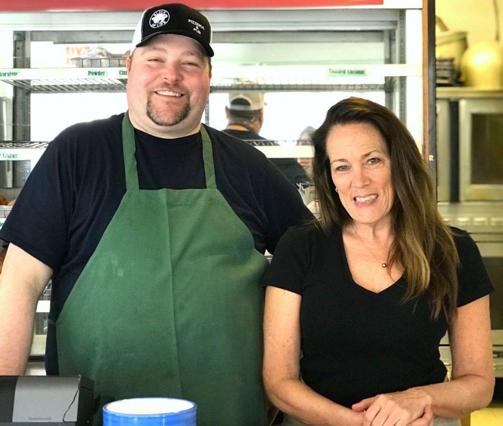 Life at Humphrey's VIneyard Haven Martha's Vineyard Restaurant partners Pete Smyth, of Slice of Life, and Donna Diaz of Humphreys Bakery