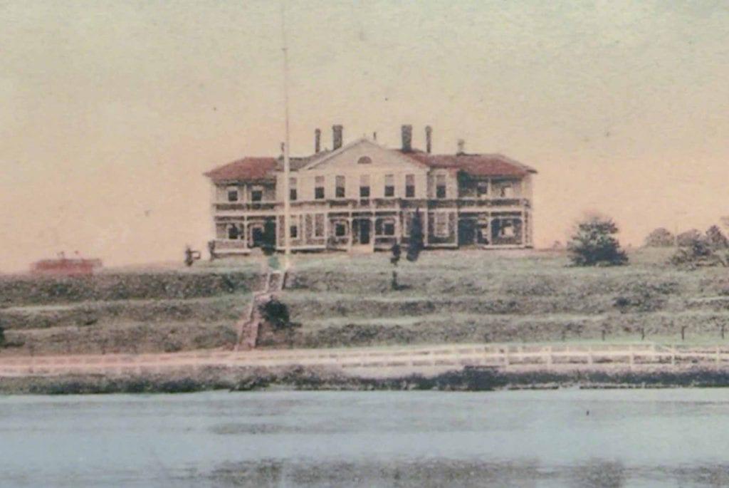 Old Marine Hospital in Vineyard Haven Is Home To Martha's Vineyard Museum