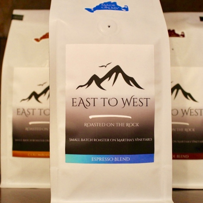Martha's Vineyard Coffee Roaster East To West Coffee Inspired By Martha's Vineyard