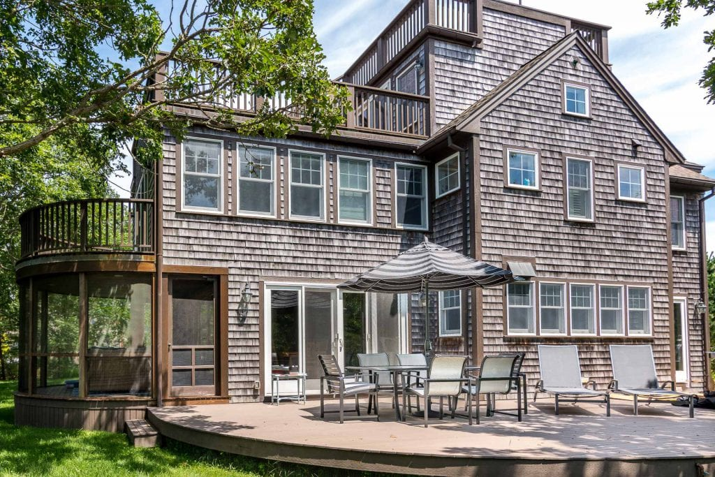 West Tisbury July Rental Special Martha's Vineyard Point B Realty exclusive