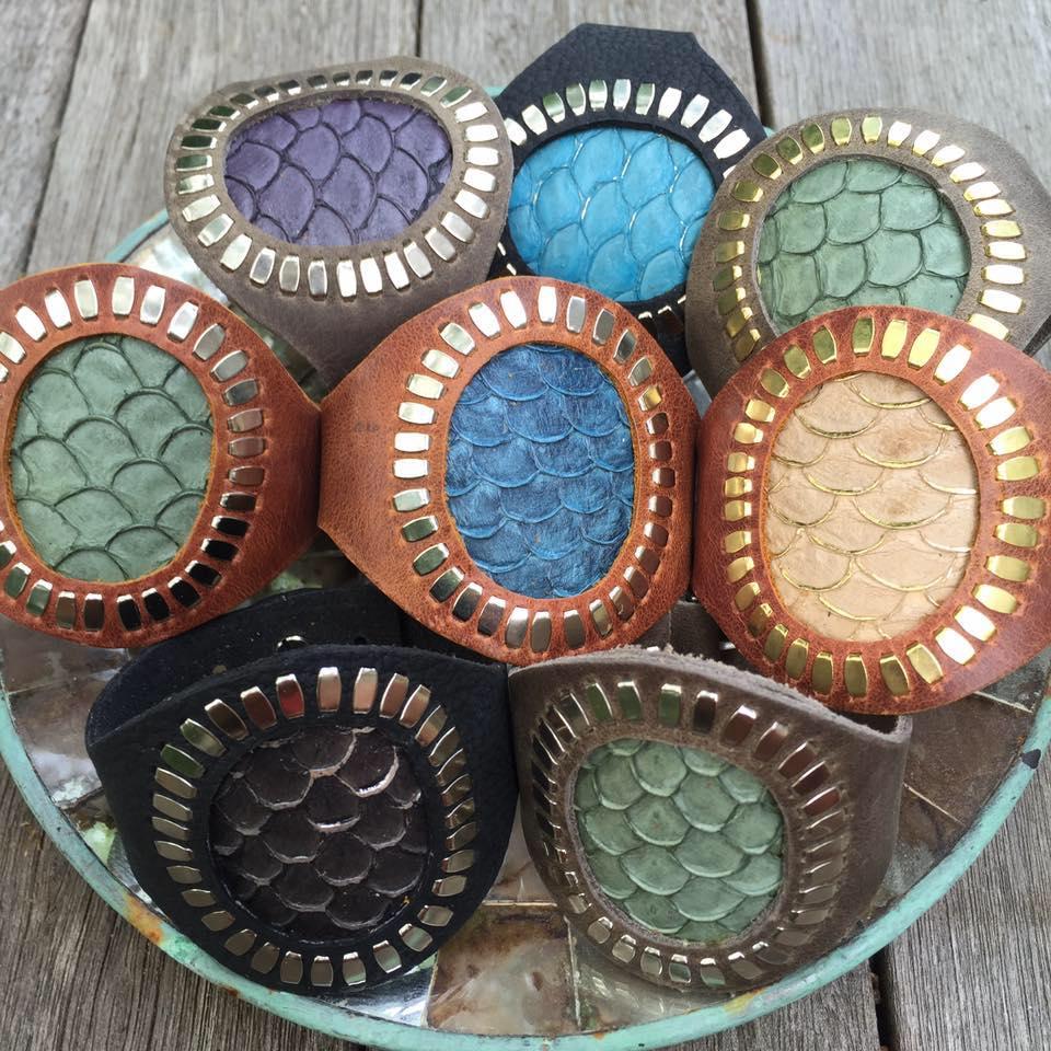 Martha's Vineyard Artist Rebeccah J handmade leather goods Pop Up @ 29