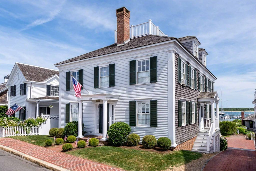 Martha's Vineyard Exclusive listing Edgartown Waterfront Real Estate Luxury
