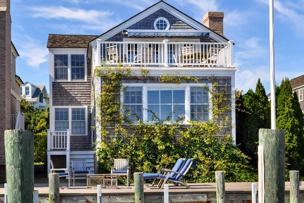 2 and 4 Morse Street Edgartown MA 02539 Martha's Vineyard Point B Realty Waterfront Compound For Sale Please Inquire