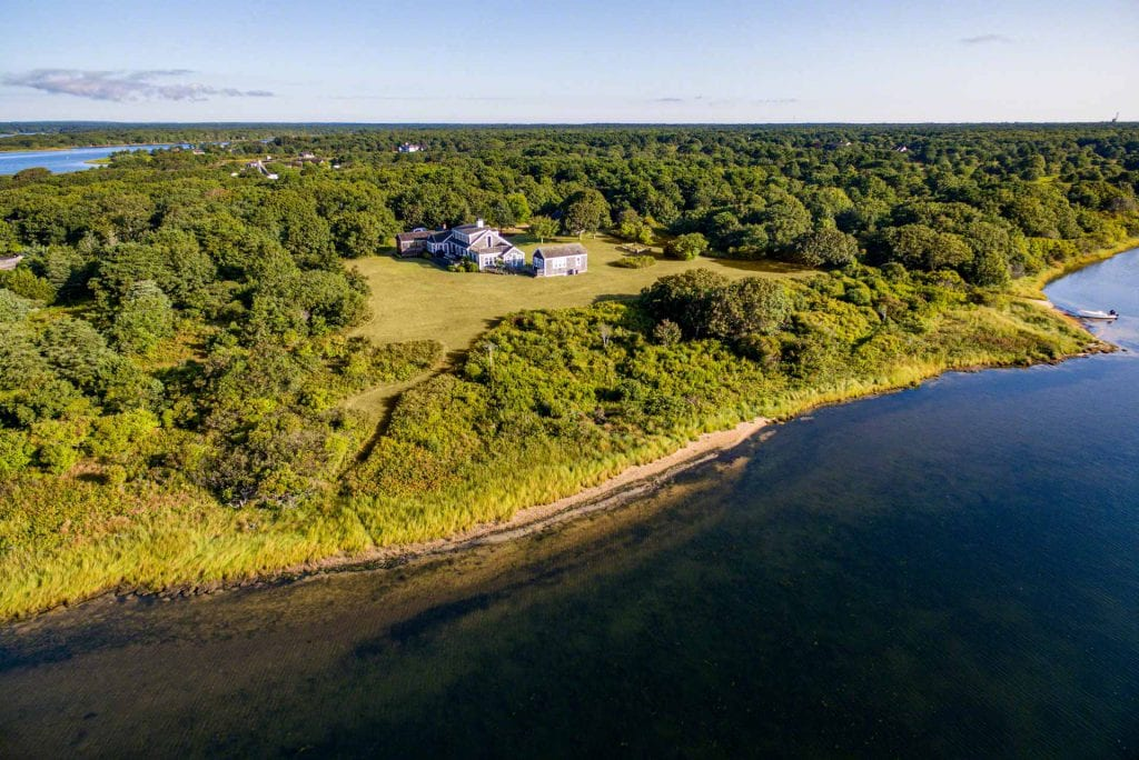 Edgartown Great Pond Waterfront Home 55 Kings Point Way Edgartown Ma 02539 Point B Realty Exclusive Real Estate For Sale On Martha's Vineyard