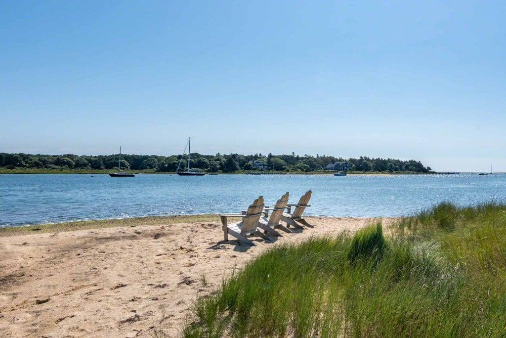 Point B Realty Featured Rental Property Includes Access To Private Association Sandy Beach On Katama Bay Martha's Vineyard Vacation Rentals Newly Listed For Summer 2020