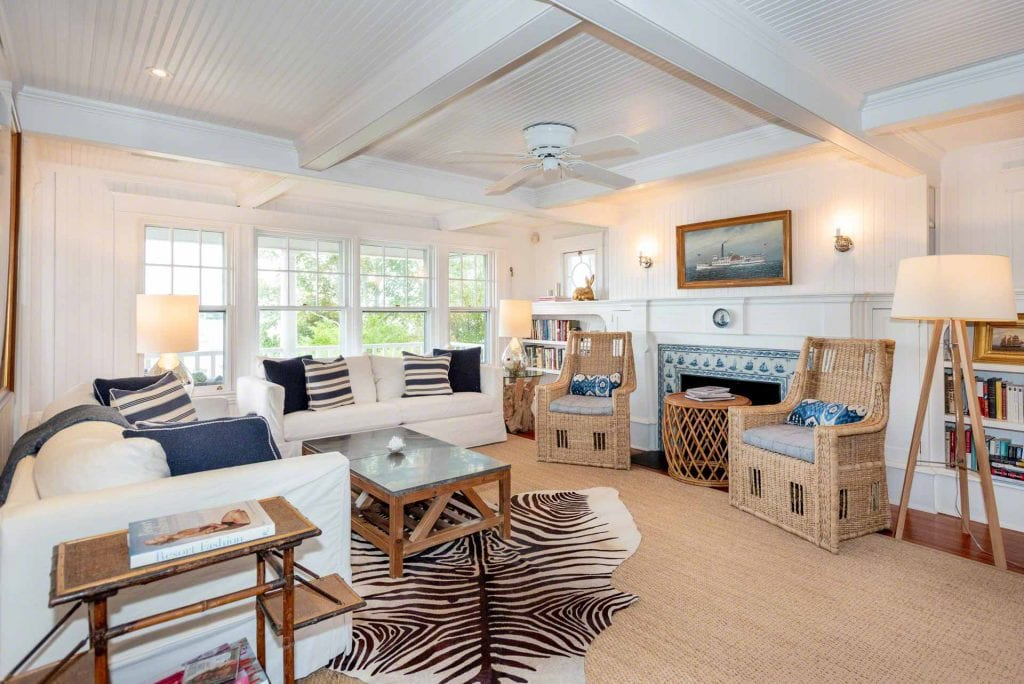 Martha's Vineyard Waterfront Home For Sale Edgartown Harbor 71 South Water Street Edgartown MA Point B Realty Exclusive Listing