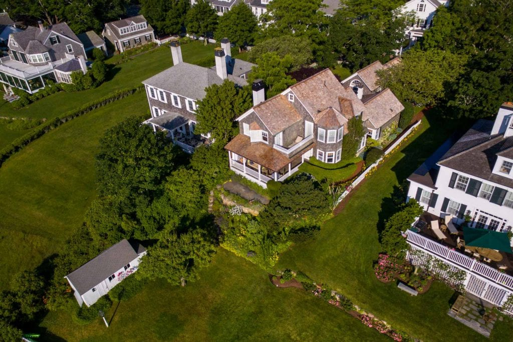 Martha's Vineyard Waterfront Home For Sale Edgartown Harbor 71 South Water Street Edgartown MA Point B Exclusive Listing Under Agreement