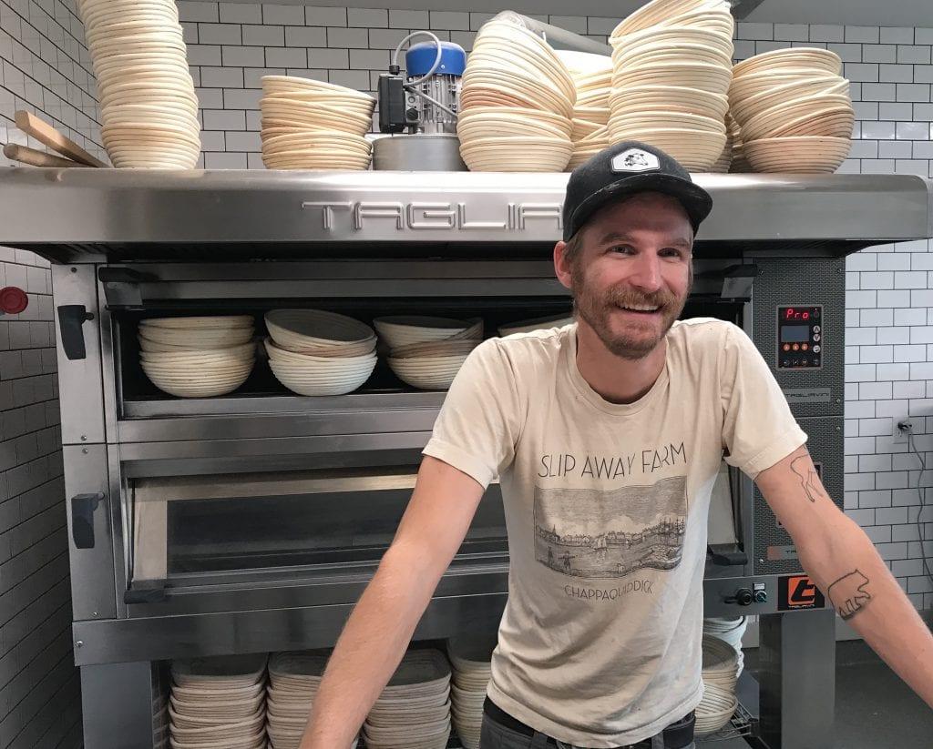Grey Barn Bakery Master Baker Christian Walter Martha's Vineyard