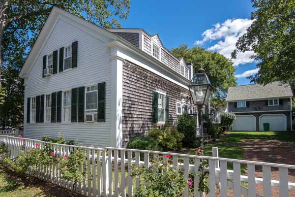 Martha's Vineyard Vacation Rentals Available August Summer 2020 - Edgartown Village withPool Point B Realty Exclusive Rental Listing