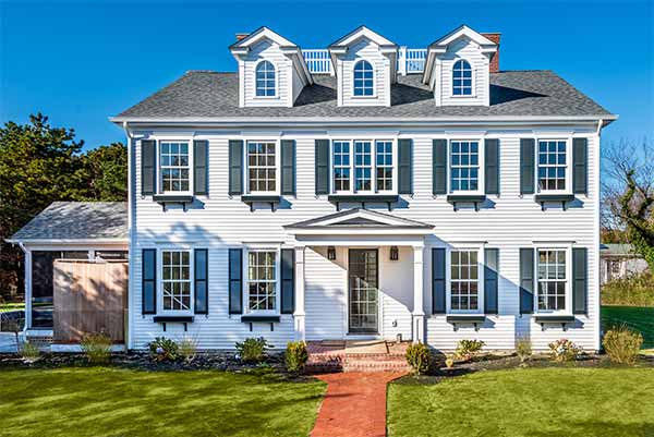 Martha's Vineyard Vacation Rentals For Summer 2020 Grand Edgartown Village Compound With Pool & Carriage House Point B Realty Luxury Rental EDG CCAS-27